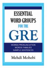 کتاب اسنشیال ورد گروپ فور جی ار ای Essential Word Groups For The GRE