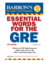 کتاب Essential Words for The GRE 4th