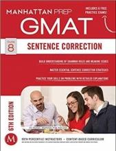 کتاب جی مت سنتنس کارکشن GMAT Sentence CorrectionManhattan Prep