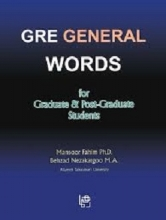 کتاب GRE General Words for Graduate & Post-Graduate Students