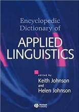 کتاب The Encyclopedic Dictionary of Applied Linguistics