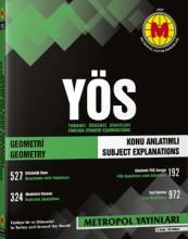 کتاب . YÖS Geometri Konu Anlatımlı Örnek Çözümlü Metropol Yayınları