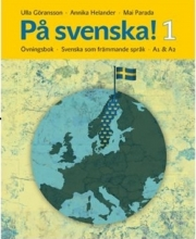 كتاب På svenska! 1 Ovningsbok A1 &A2 سیاه سفید