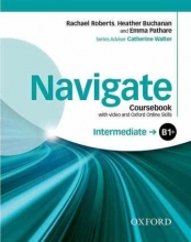 کتاب Navigate Intermediate (B1+) Coursebook + W.B + CD