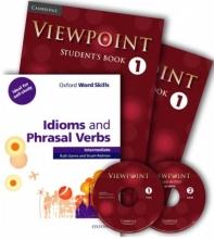 کتاب ViewPoint 1+Idioms and Phrasal Verbs intermediate پک ویوپوینت ۱ و آیدیومز