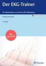 كتاب آلماني Der EKG-Trainer سیاه سفید