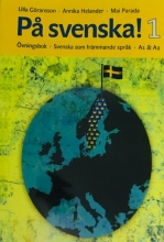 كتاب På svenska! 1 Ovningsbok A1 &A2 رنگی