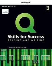 Q Skills for Success 3rd 3 Reading and Writing +DVDکتاب کیو اسکیلز فور ساکسز ویرایش سوم
