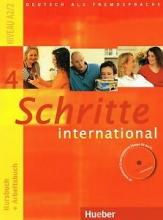 کتاب آلمانی شریته اینترنشنال قدیمی Schritte International 4