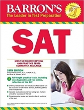 کتاب Barrons SAT 29th