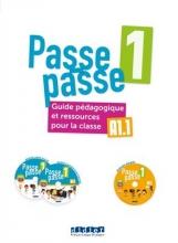 کتاب فرانسه Passe - Passe niv. 1 -Guide pedagogique