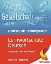 کتاب آلمانی Lernwortschatz Deutsch (Learning German Words (Deutsch-Englisch