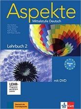 کتاب آلمانی Aspekte B2 mittelstufe deutsch lehrbuch 2 + Arbeitsbuch mit audio-CD قدیمی