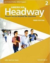 کتاب آموزشی امریکن هدوی American Headway 3rd 2 SB+WB+DVD