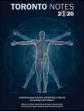 کتاب تورنتو نوت Toronto Notes 2020: Comprehensive Medical Reference & Review for USMLE II and MCCQE 36th Edition