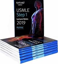 مجموعه 7 جلدی کتاب یو اس ام ال ای استپ لکچر نوت USMLE Step 1 Lecture Notes 2019: 7-Book Set (Kaplan Tes t Prep) 1st Editi