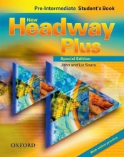 كتاب نیو هیدوی پلاس New Headway Plus Pre Intermediate