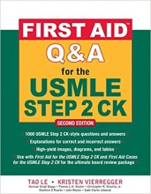 کتاب فرست اید First Aid Q&A for the USMLE Step 2 CK, Second Edition