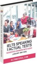 كتاب آيلتس اكچوال تست Ielts Speaking Actual Tests January-May 2020