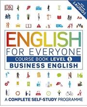کتاب انگلیش فور اوری وان بیزینس انگلیش English for Everyone Business English Course Book Level 1 رنگی