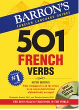 کتاب 501French Verbs+CD
