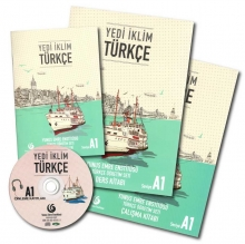 Yedi Iklim A1 (SB+WB)+Script+CD کتاب یدی ایکلیم (چاپ گلاسه اصل )
