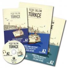 Yedi Iklim A2 (SB+WB) + Script + CD کتاب یدی ایکلیم ( چاپ گلاسه اصل )
