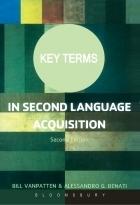 کتاب کی ترمز این سکوند لنگوییچ Key Terms in Second Language Acquisition 2nd Edition