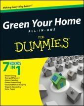 کتاب گرین یور هوم آل این وان فور دامیز Green Your Home ALL IN ONE For Dummies