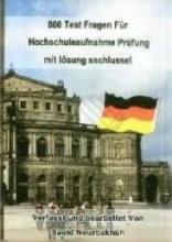 کتاب  800 تست کنکور زبان آلمانی