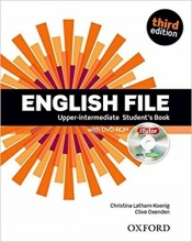 کتاب English File Upper-intermediate 3rd Edition