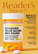 مجله ریدر دایجست Readers Digest Conquer your Aches and Pains October 2020