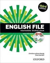 کتاب English File intermediate Student Book 3rd