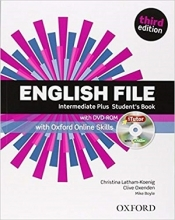کتاب English File intermediate plus students book 3rd