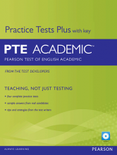 کتاب Practice Tests Plus with key PTE Academic