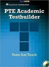کتاب PTE Academic Testbuilder Student's Book + Audio CD