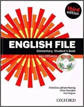 کتاب English File Elementary Student Book 3rd