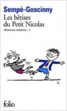 کتاب لس بتیسز دو پتیت نیکولاس les betises du petit nicolas histoires inedites 1