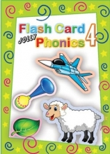 Jolly Phonics 4 Flash Cards فلش کارت جولی فونیکس