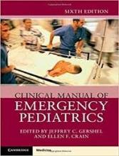کتاب کلینیکال مانوئل آف امرجنسی پدیاتریکس Clinical Manual of Emergency Pediatrics 2019 6th Edition