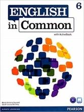 کتاب English in Common (6) SB+WB+CD