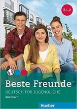 کتاب beste freunde B1.2: kursbuch + arbeitsbuch+ cd