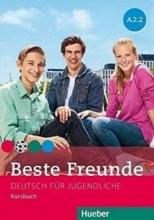 کتاب beste freunde A2.2 deutsch fur gugedliche kursbuch + arbeitsbuch+ cd