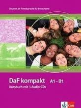 کتاب DaF kompakt Kursbuch + Ubungsbuch A1 - B1 رنگی