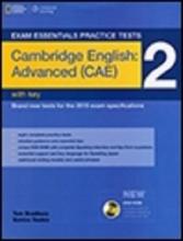 کتاب اگزم اسنشالز پرکتیس Exam Essentials Practice Tests Advanced (CAE) 2+CD