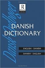 کتاب دیکشنری دوسویه انگلیسی دانمارکی Danish Dictionary - Danish-English, English-Danish