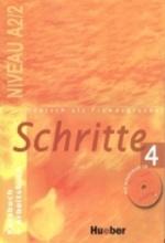 کتاب Deutsch als fremdsprache Schritte 4 NIVEAU A 2/2 Kursbuch + Arbeitsbuch