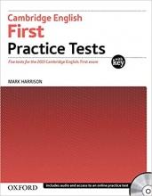 کتاب Cambridge English First Practice Tests+CD رنگی