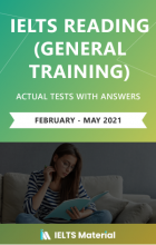 IELTS Reading Actual Tests(Feb – May 2021)
