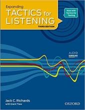 کتاب تکتیس فور لیسنیگ Expanding Tactics for Listening Third Edition تحریری